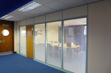 datum refurbishment partitioning milton keynes