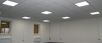 datum refurbishment suspended ceilings flooring decorations kettering wigley